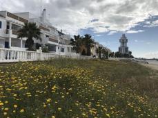 Llegada a Isla Cristina