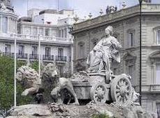 Monumento de Cibeles en Madrid