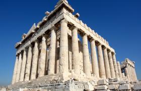 Atenas acrópolis Partenon