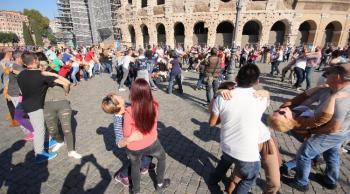 Baile en Roma