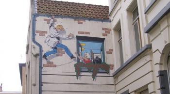 Murales de Tintín, Bruselas