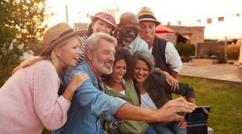 grupo single selfie