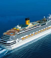 Navegar en un crucero de alta gama
