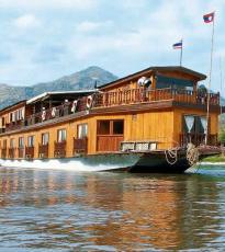 barco por el río Mekong