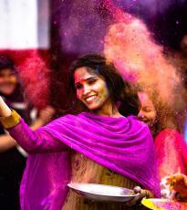 Los colores de la India