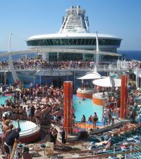 Un barco de lujo